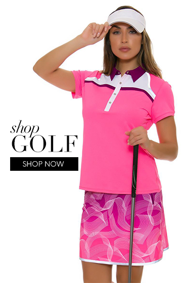 0fb9fe50819b Pinks and Greens | Women's Golf & Tennis Apparel